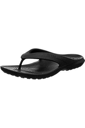Crocs Classic Flip, Unisex - Erwachsene Zehentrenner, (Black)