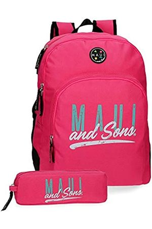 Maui & Sons Maui and Sons Hawai Schulrucksack 44 Centimeters 19.600000000000001 Pink
