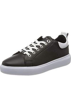 TOM TAILOR Damen 8090602 Sneaker, Mehrfarbig (Black-White 00236)