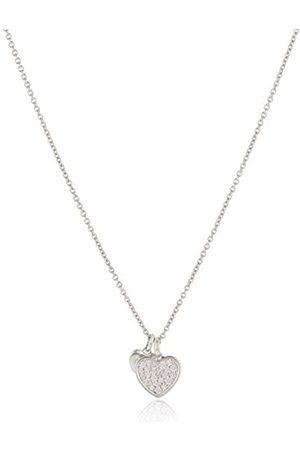 Fossil Damen Halskette 925 Sterling Silber Zirkonia 47.0 cm JFS00196040