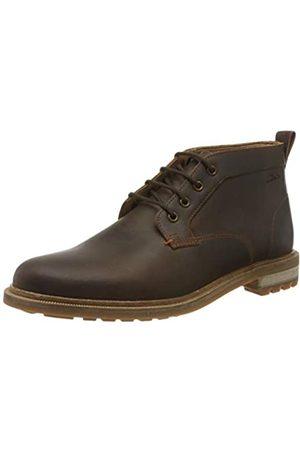 Clarks Herren Foxwell Mid Chukka Boots, (Beeswax Leather Beeswax Leather)