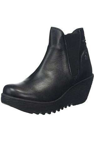 Fly London Damen Yazo528fly Chelsea Boots, (Black 000)