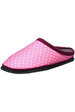 Kitz - Pichler Unisex-Erwachsene Biosoft Pantoffeln, Pink (pink Punkte)