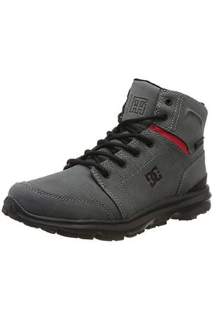DC Herren Torstein - Urban Winter Boots for Men Schlupfstiefel, Grey/Black/red