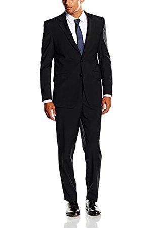 BLUEBLACK Herren Slim Fit Anzug Belluno, mit Stretch-Anteil