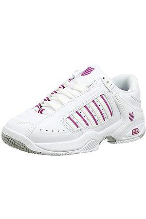 K-Swiss Defier Rs, Damen Tennisschuhe, (White/Veryberry 39)
