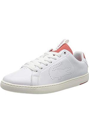 Lacoste Herren Carnaby Evo Light-wt 1201 Sneaker, (Wht/Red 286)