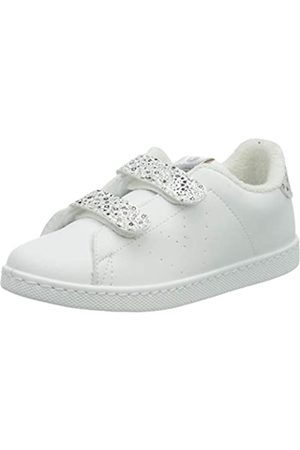 victoria Unisex-Kinder Tenis Tiras Pu/Glitter Sneaker, (Plata 14)