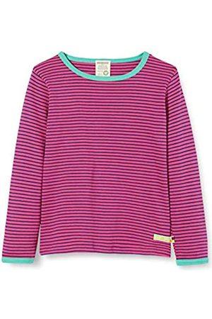 loud + proud Mädchen Striped Shirt Organic Cotton Langarmshirt