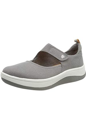 Clarks Damen Arla Air Sneaker, (Grey)