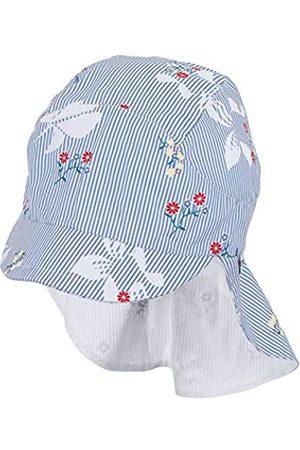 Sterntaler Mädchen Cap with Visor and Neck Protection Mütze