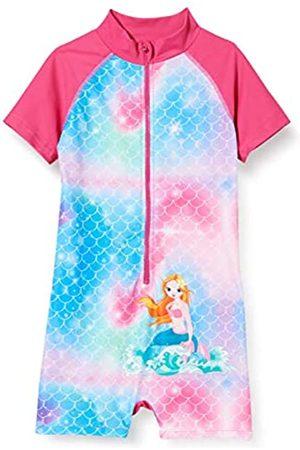 Playshoes Mädchen Meerjungfrau UV-Schutz Badeanzug Sonnenanzug