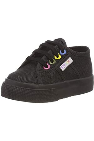 Superga Mädchen 2730-COTJ Colors Hearts Sneaker, (Full Black 996)