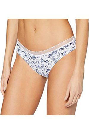 Lovable Damen My Daily Comfort Printed Unterwäsche, Bianco + Blu