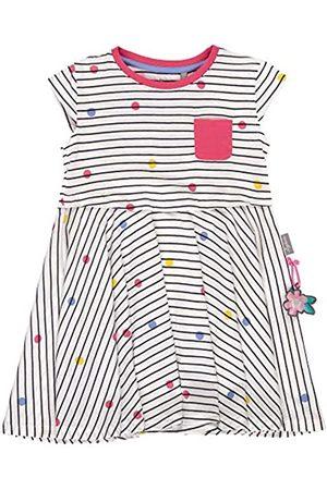 sigikid Mini - Mädchen Kleid Sommerkleid Kurzarm aus Bio-Baumwolle, abnehmbares Hangtoy