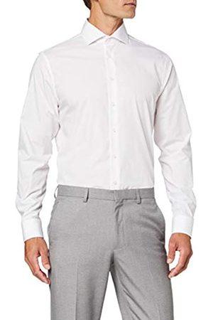 Seidensticker Herren Gepunktetes Hemd Mit Kent-Kragen Und Einem Hohen Shaped Fit – Langarm Businesshemd