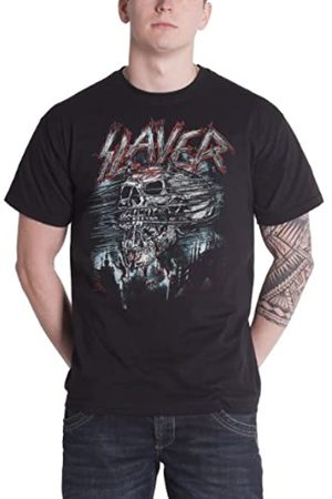 Rocks-Off ROCKOFF Herren Slayer Demon Storm T-Shirt