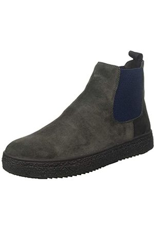 Stonefly Herren Voyager Velour Shade Chelsea Boots, (Forged Gray 07x)