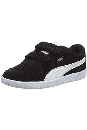 Puma Unisex-Kinder Icra Trainer SD V Inf Sneaker, (black-white)