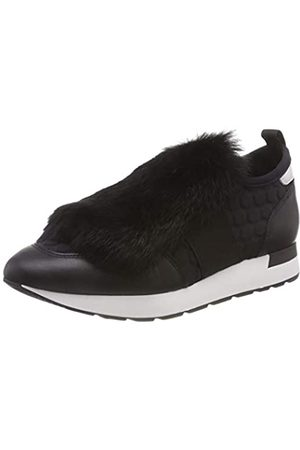 Pollini Damen Running Time Slip On Sneaker, (Black 00A)