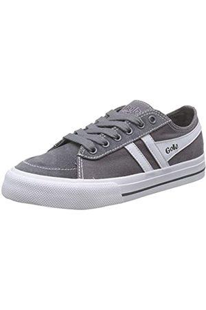Gola Unisex-Kinder Quota Ii Sneaker, (Ash/White Gw)