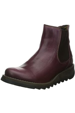 Fly London Damen Salv Chelsea Boots, (Purple)