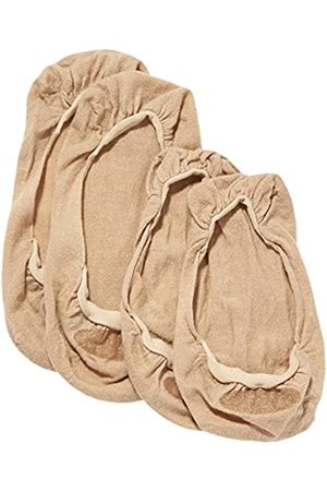 ELBEO Damen Füßlinge Ballerina Baumwoll Füßling Doppelpack/902515, 2er Pack, Gr. 35/38