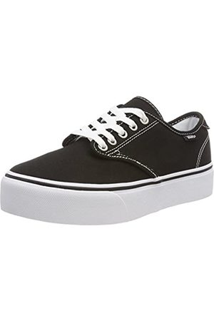 Vans Damen Camden Platform Sneakers, ((Canvas) Black/White 187)