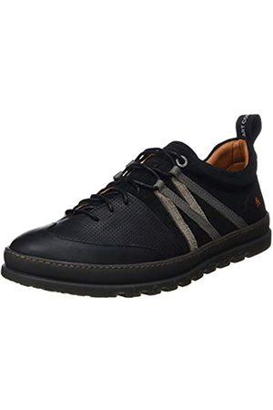 Art Unisex-Erwachsene 1522m Multi Leather Mainz Brogues, (Black Black)