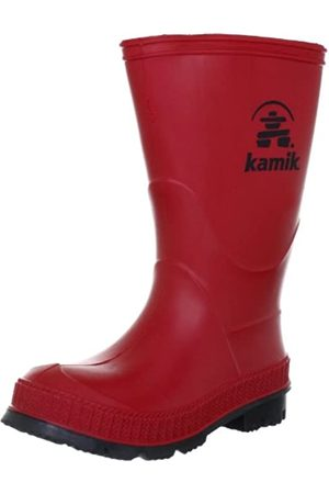 Kamik STOMP, Unisex-Kinder Kurzschaft Gummistiefel, (RED)