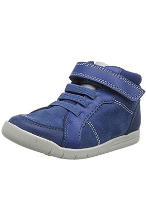 Clarks Mädchen Emery Beat T Hohe Sneaker, (Blue Suede Blue Suede)