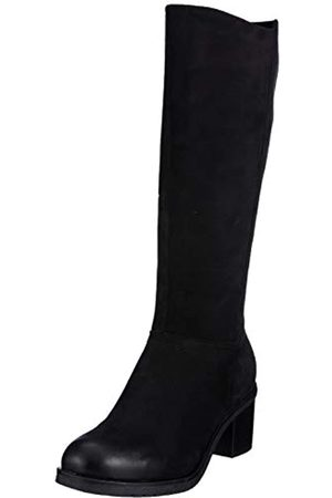 Caprice Damen Herma Hohe Stiefel, (Black Nubuc 8)