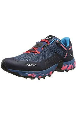 Salewa Damen WS Speed Beat GTX Traillaufschuhe, (Patriot Blue/Fluo Coral 8638)