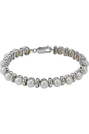 Pearl Dreams Damen-Armreif 925 Silber rhodiniert