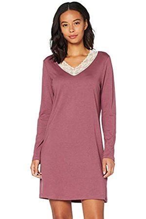 IRIS & LILLY Amazon-Marke: Damen Nachthemd aus Baumwolle, L