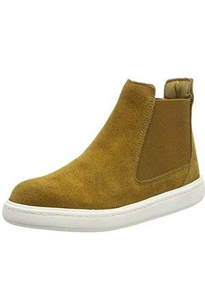 Clarks Jungen StreetChelseaK Chelsea Boots, (Oak Suede)