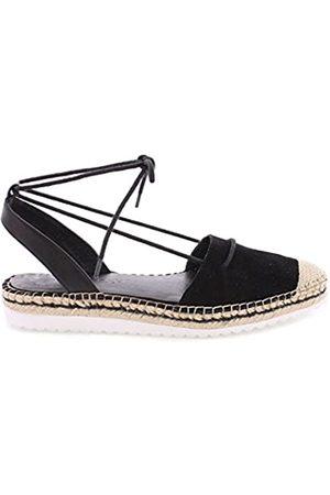 Sixtyseven Damen 77911 Kleid-Schuhe, Suede Negro/Vak Negro