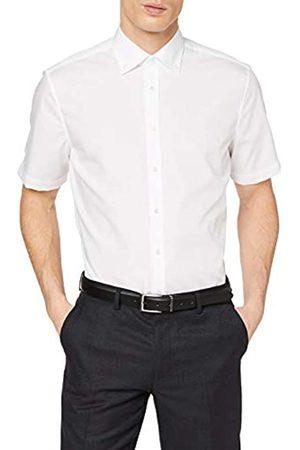 Seidensticker Herren Business Hemd Shaped Fit – Bügelfreies Businesshemd