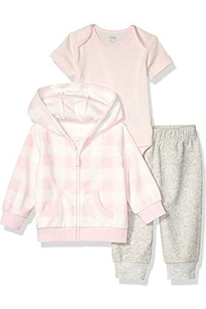 Amazon 3-Piece Microfleece Set fashion-hoodies, Pink Buffalo Check