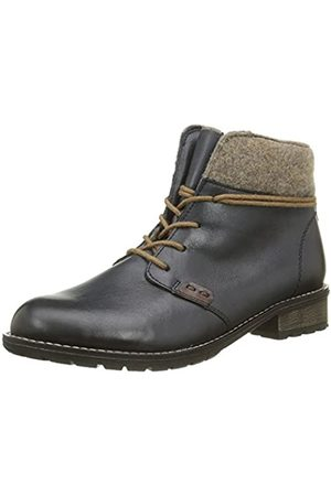 Remonte Damen R3332 Combat Boots, (Lake/Chestnut/wood/14)