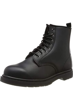 Urban classics Unisex-Erwachsene Heavy Lace Combat Boots, (Black 00007)