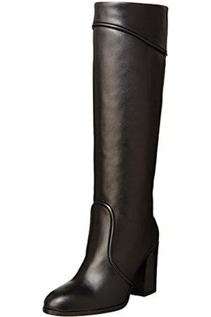 Atelier Mercadal Damen G 5140/F 1498 Kurzschaft Stiefel, (Vitello Nero)