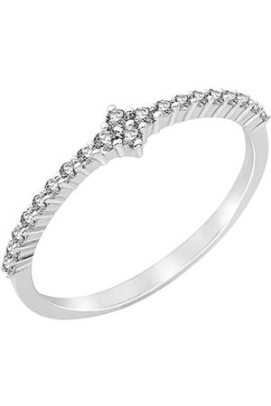 Miore Damen-Ring 925 Sterling Silber Zirkonia Gr. 54 (17.2) MPS060R4