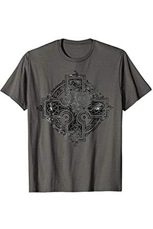 EDDArt Old Celtic Cross Ornament Mandala 1 - Gothic Symbol Fan Fun T-Shirt