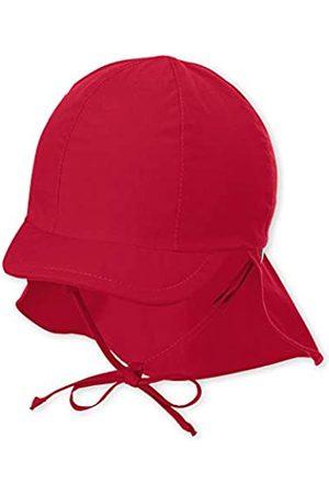 Sterntaler Baby-Mädchen Schirmmütze mit Bindebändern und Schutz für den Nacken Mütze