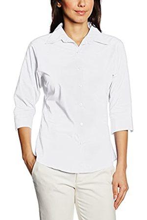 Premier Workwear Premier Damen Popeline Bluse / Schlichtes Arbeitshemd, Weiß