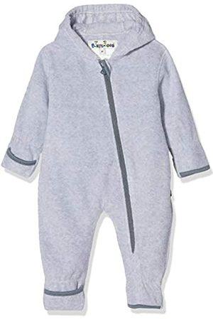 Playshoes Baby-Unisex Fleece-Overall meliert Strampler