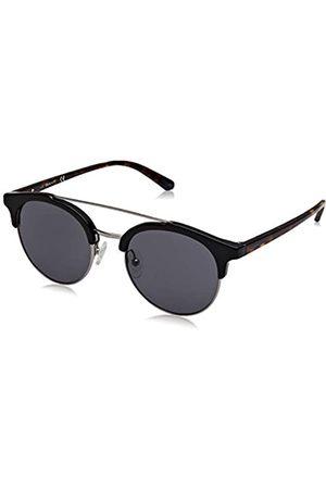 GANT Herren GA7112 Sonnenbrille, (Shiny Black/Smoke)