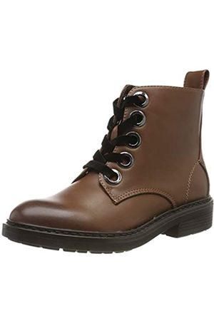 Urban classics Damen Velvet Lace Combat Boots, (Brown 00075)