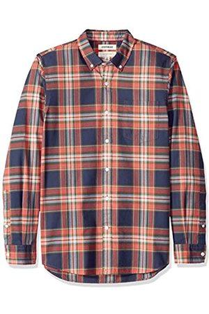 Goodthreads Amazon-Marke: Herrenhemd, langärmlig, schmale Passform, kariert, aus Oxford-Stoff